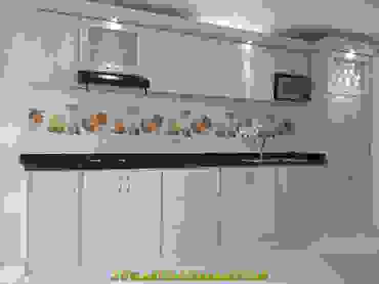 cocinas moderna en barranquilla de arteintegrales Moderno Madera Acabado en madera