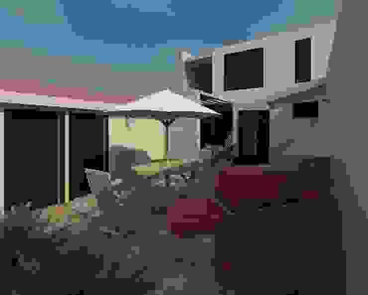 terraza Jardines de estilo moderno de Diseño Store Moderno