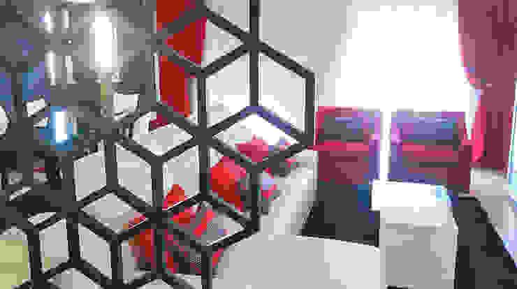 GEOMETRIC Salas de estar modernas por GRAÇA Decoração de Interiores Moderno