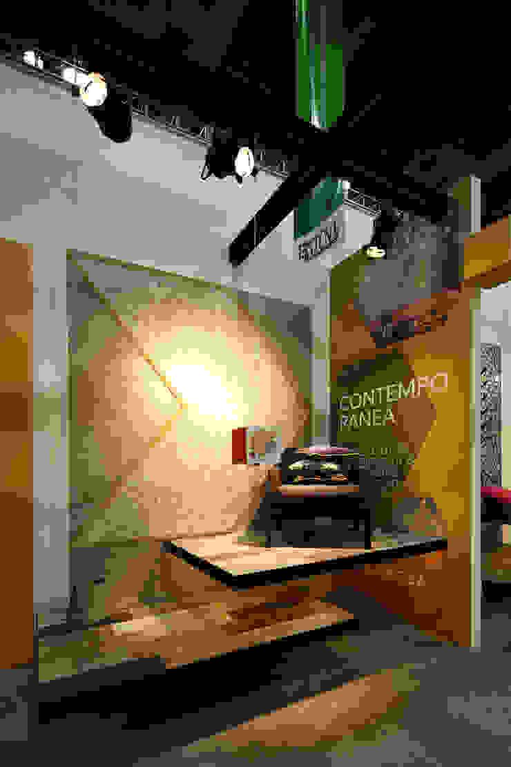 Lamosa Expo CIHAC 2014 Estudios y despachos modernos de Local 10 Arquitectura Moderno Concreto