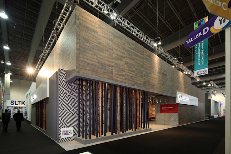 Stand Bambú - Local 10 Arquitectura Estudios y despachos modernos de Local 10 Arquitectura Moderno Madera Acabado en madera