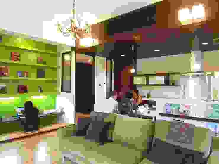 modern  oleh e.co room, Modern Beton Bertulang