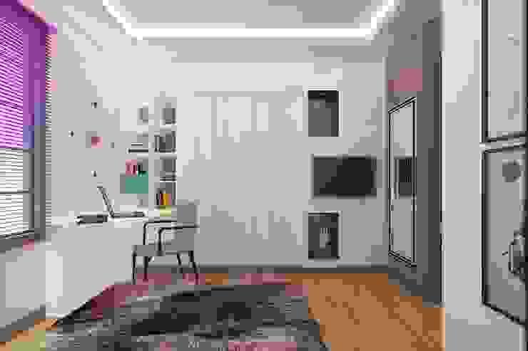 Habitaciones infantiles de estilo  por ESA PARK İÇ MİMARLIK,