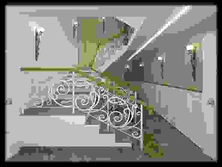LBC İNŞAAT -76.CADDE ÖRNEK DAİRE Modern Koridor, Hol & Merdivenler ESA PARK İÇ MİMARLIK Modern