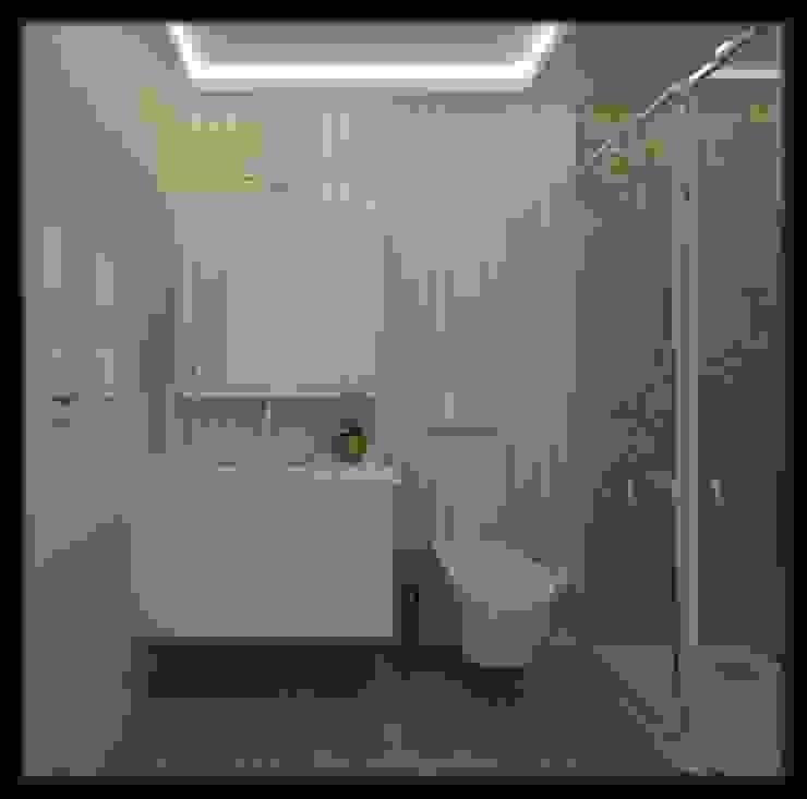 LBC İNŞAAT -76.CADDE ÖRNEK DAİRE Modern Banyo ESA PARK İÇ MİMARLIK Modern