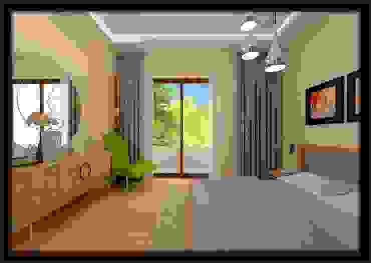 LBC İNŞAAT -76.CADDE ÖRNEK DAİRE Modern Yatak Odası ESA PARK İÇ MİMARLIK Modern