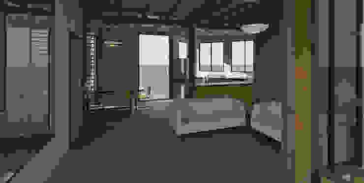 Vista interiores Salas de estilo minimalista de Loft estudio C.A. Minimalista Madera Acabado en madera