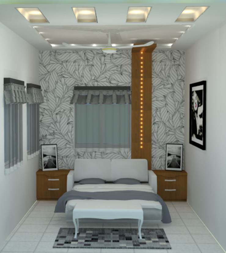 create your unique world Modern style bedroom by Alag Interior Modern