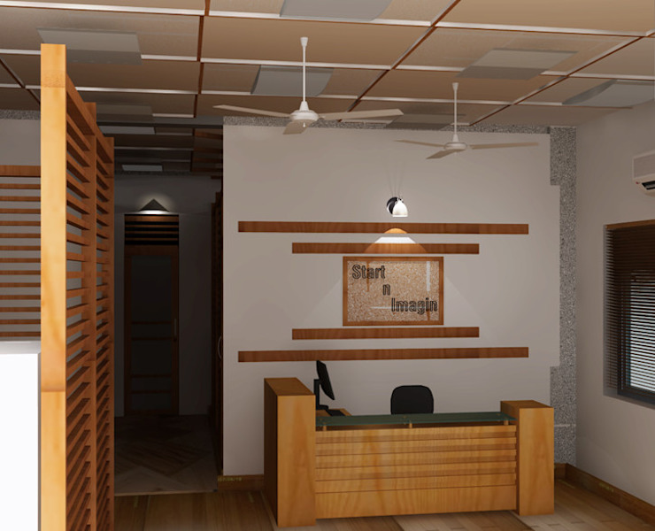 create your unique world Modern study/office by Alag Interior Modern