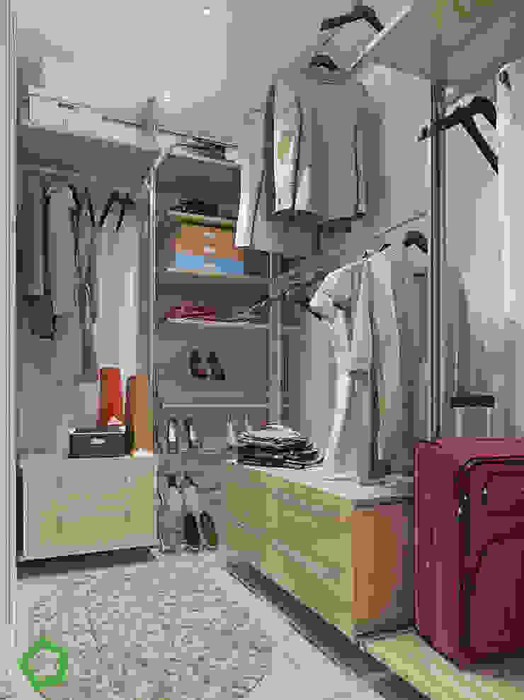 Polygon arch&des Walk in closets de estilo minimalista