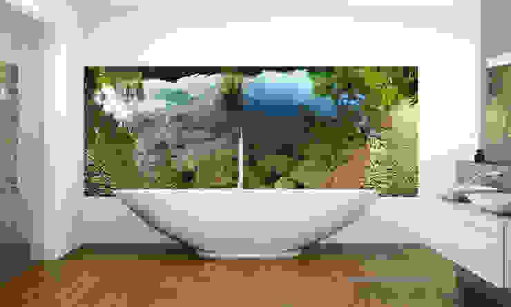 Moderne badkamers van Mitko Glas Design Modern Glas