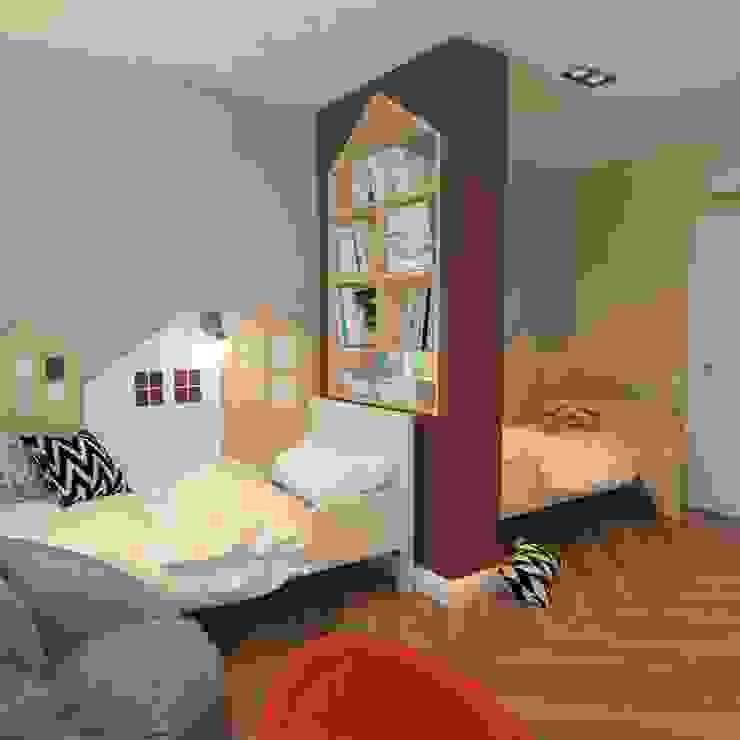 Moderne Kinderzimmer von Design interior OLGA MUDRYAKOVA Modern Holzwerkstoff Transparent