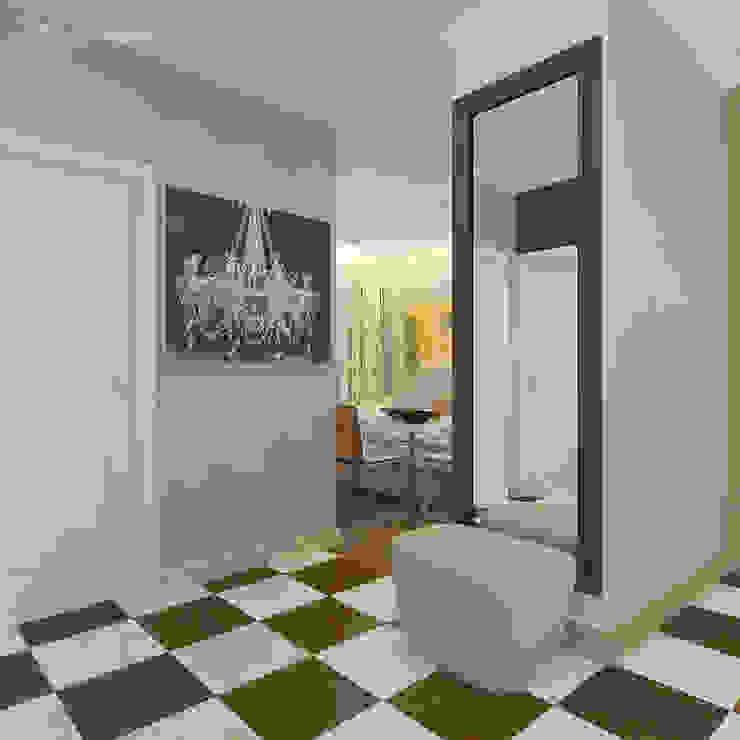 Moderner Flur, Diele & Treppenhaus von Design interior OLGA MUDRYAKOVA Modern Keramik