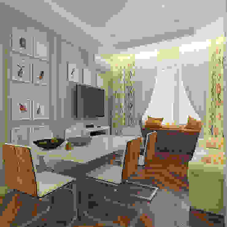 Moderne Küchen von Design interior OLGA MUDRYAKOVA Modern Holzwerkstoff Transparent