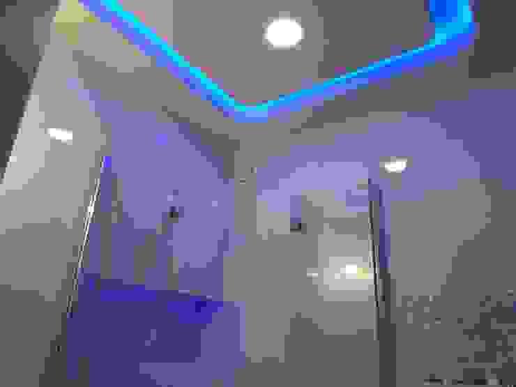 bratbud Modern bathroom Ceramic White