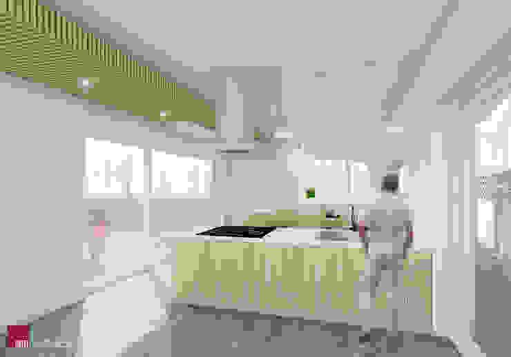 서생면 단독주택 '8 5 3 . HOUSE': 민 아키텍츠 건축사사무소의 미니멀리스트 ,미니멀