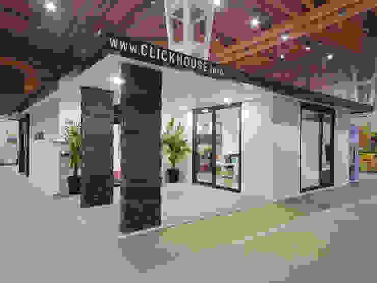 Casa modular Varandas, marquises e terraços modernos por ClickHouse Moderno