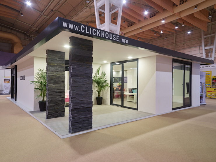 Casa modular ClickHouse Modern Terrace