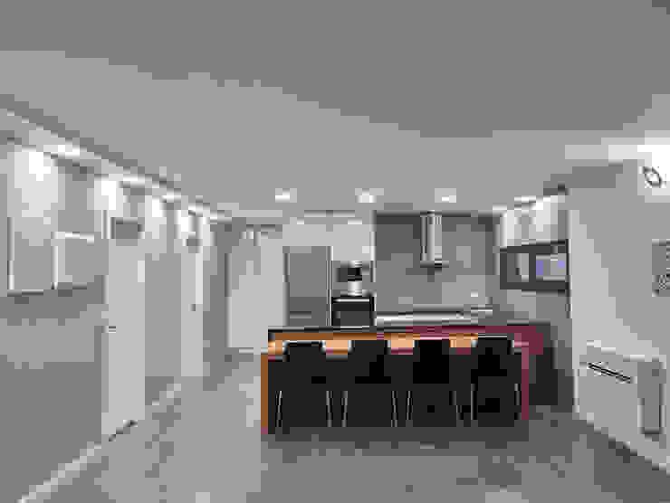Casa modular Salas de jantar modernas por ClickHouse Moderno