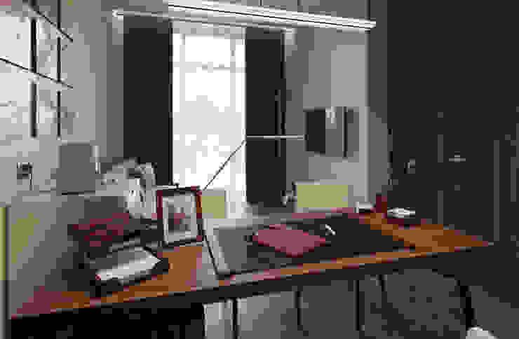 Projekty,  Domowe biuro i gabinet zaprojektowane przez homify, Eklektyczny
