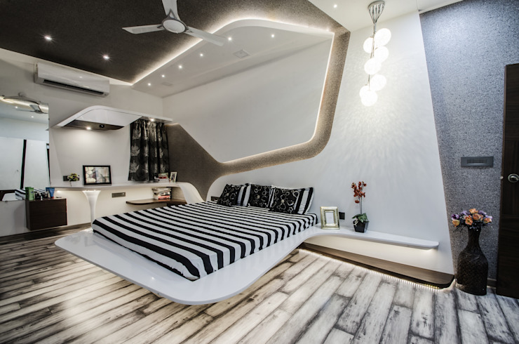 homify Modern Bedroom White