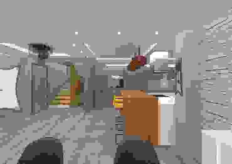 YURTKENT VİLLALARI- ÖRNEK DAİRE Modern Mutfak VANETTA KÜCHEN Modern