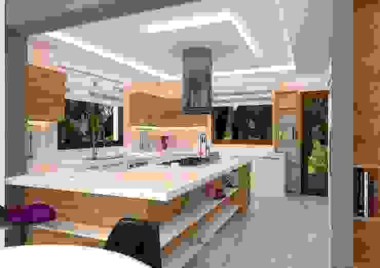 İLKO SİTESİ-ÖRNEK VİLLA Modern Mutfak VANETTA KÜCHEN Modern
