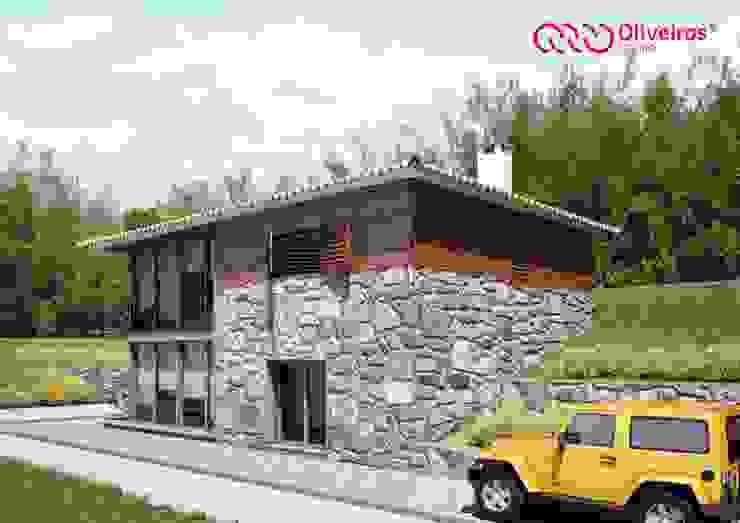 1422-JA-0315 Casas rústicas por Oliveiros Grupo Rústico