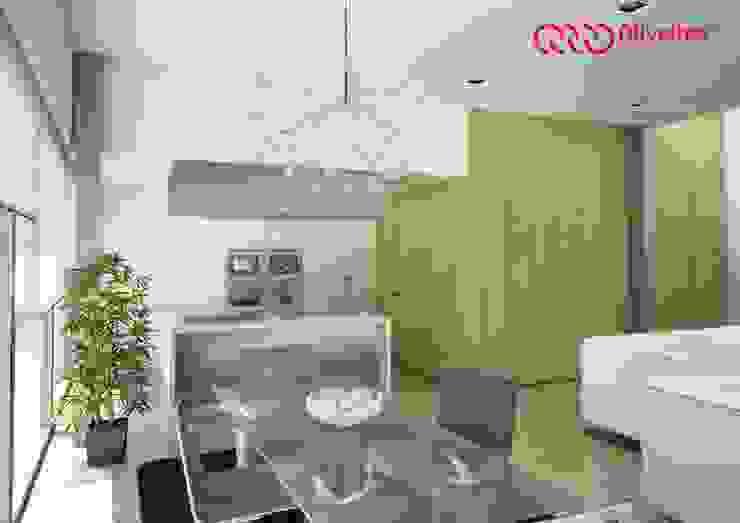 Moderne Küchen von Oliveiros Grupo Modern