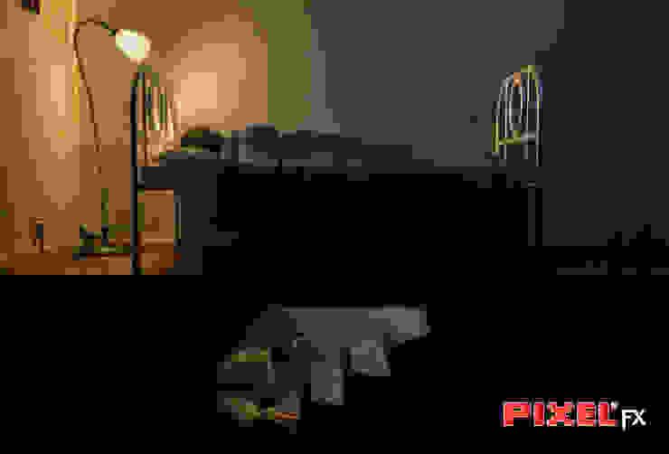 Under my bed - Ilustração por PIXELfx