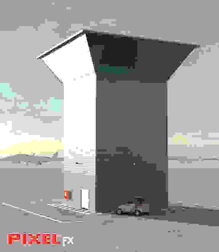Torre de controlo - Angola por PIXELfx