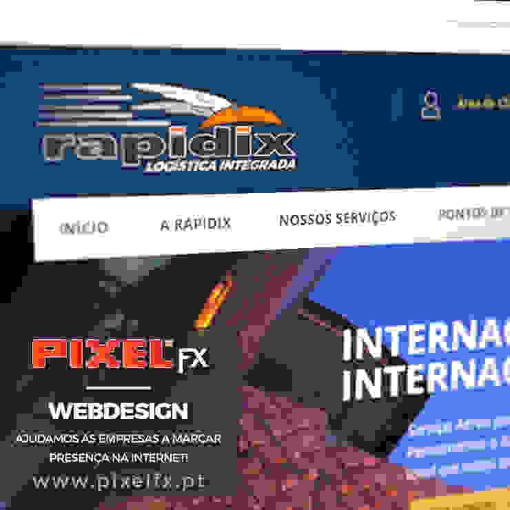 Webpage RAPIDIX.PT - webdesign por PIXELfx