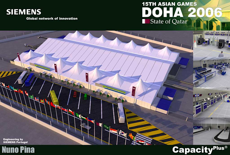 Jogos Olímpicos Asiáticos - Qatar por PIXELfx