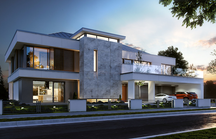 Houses by MG Projekt Projekty Domów,