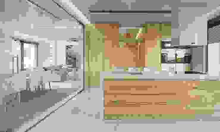 Kitchen by MG Projekt Projekty Domów,