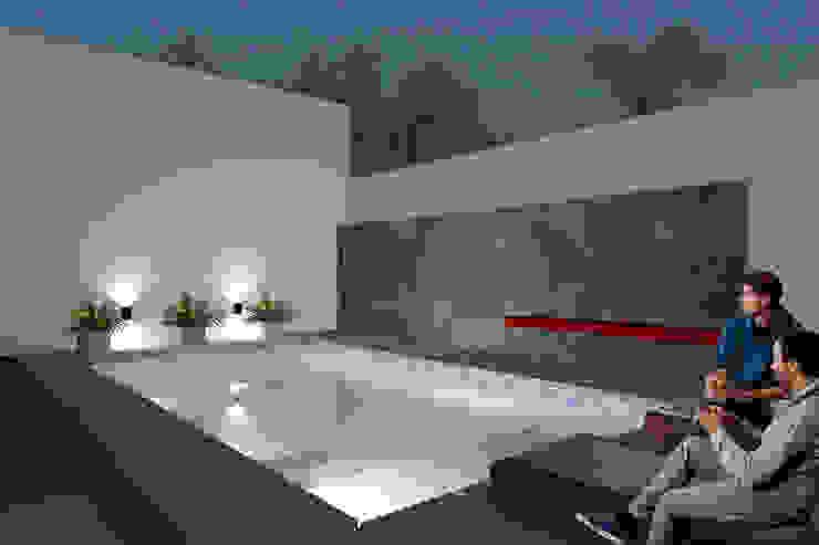 Casa FH - REFORMA PATIO Piletas minimalistas de D'ODORICO arquitectura Minimalista