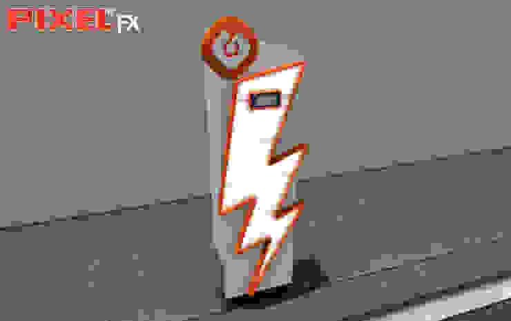 Posto carregamento eléctrico - GALP por PIXELfx