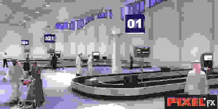 Terminal Aeroportuário - Kuwait por PIXELfx