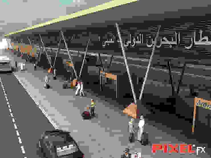 Terminal Aeroportuário - Reino do Bahrain por PIXELfx