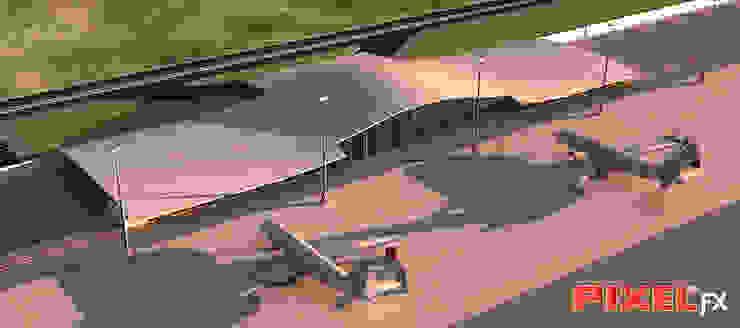 Aeroporto Angola por PIXELfx