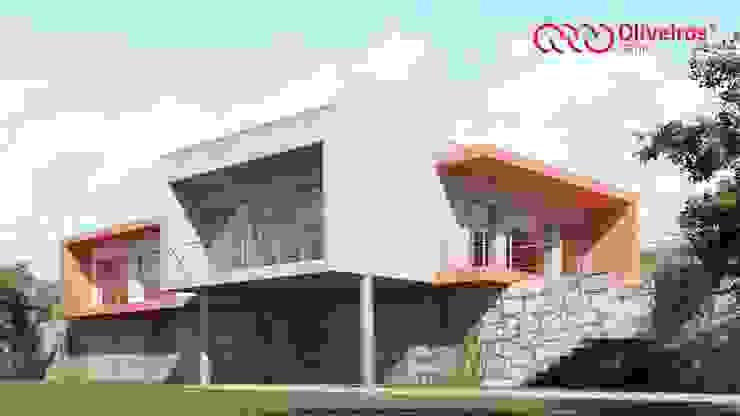 1151-JA-0710 Casas modernas por Oliveiros Grupo Moderno