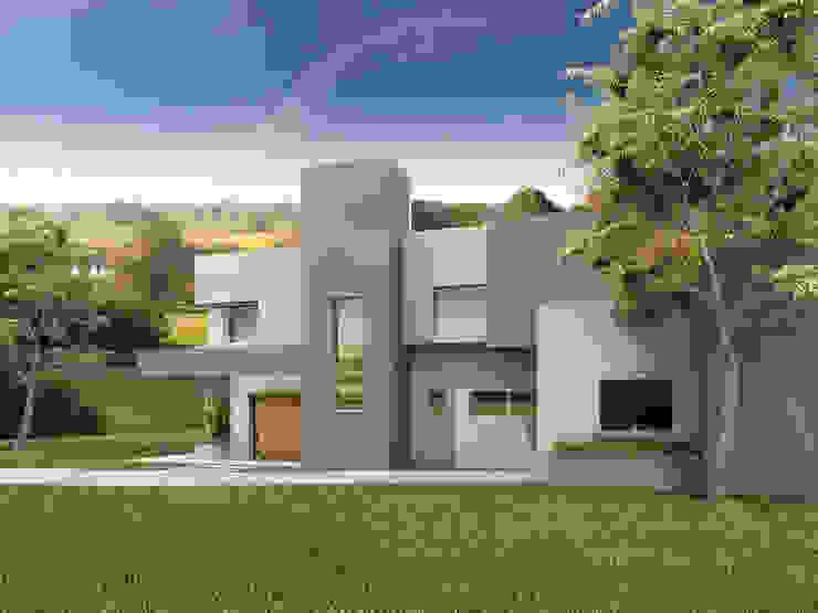 EL BOSQUE Casas modernas: Ideas, imágenes y decoración de ARQUITECTA CARINA BASSINO Moderno
