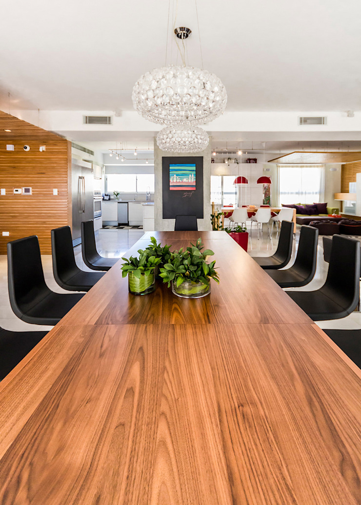 Apartamento 10A Grand Europa - NMD NOMADAS Comedores de estilo moderno de NMD NOMADAS Moderno