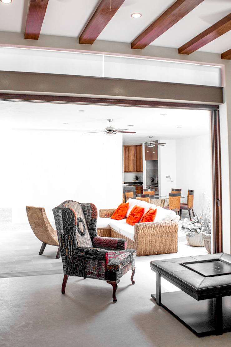 Modern Living Room by 2M Arquitectura Modern