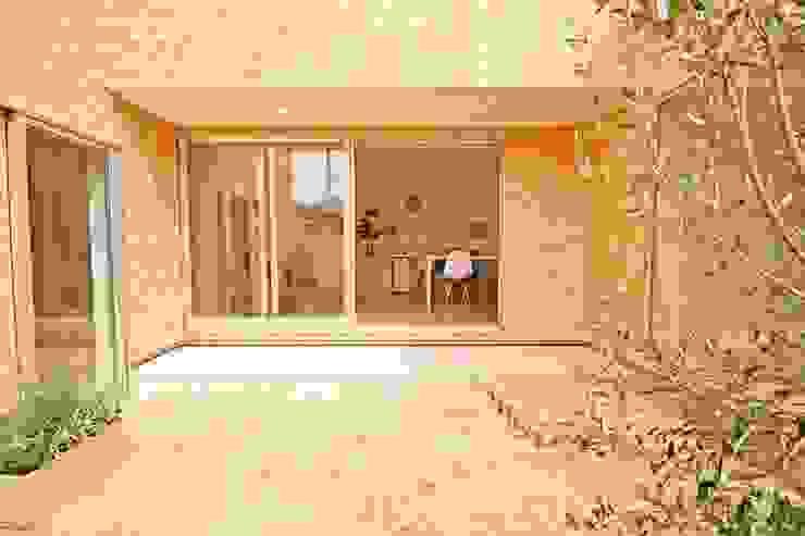 中庭 北欧風 家 の フォーレストデザイン一級建築士事務所 北欧