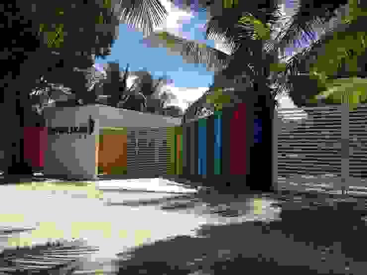 Fachada Casas modernas de Manuel Aguilar Arquitecto Moderno Concreto