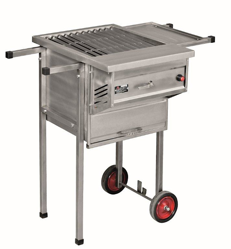 MULTIBRAAI NO.1 PORTABLE WITH OVEN by Hyper Lighting and Fires