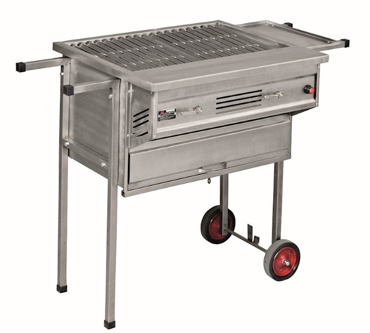 MULTIBRAAI NO.2 PORTABLE WITH OVEN by Hyper Lighting and Fires