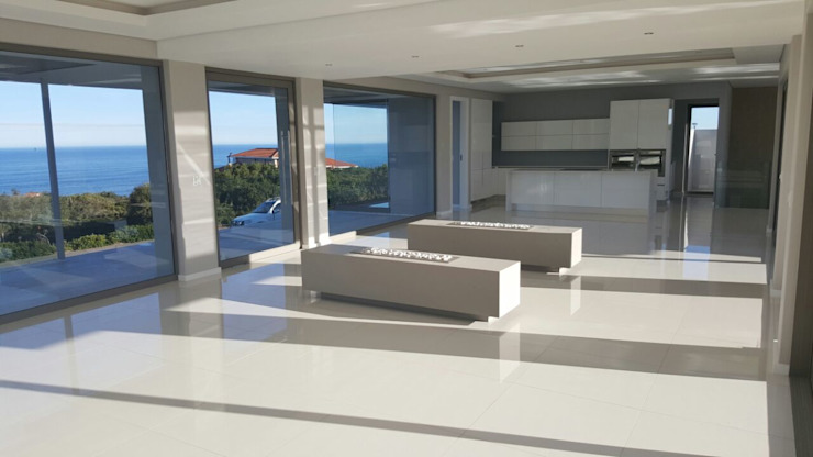 House Bus Modern living room by Rudman Visagie Modern