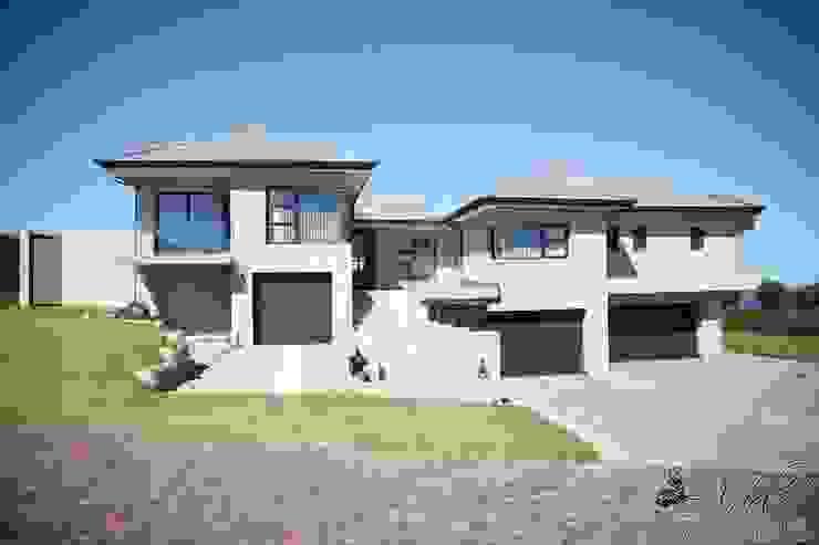 Casas modernas de Rudman Visagie Moderno